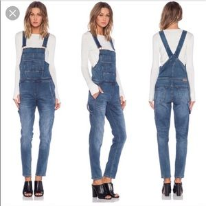 Blank NYC skinny overalls